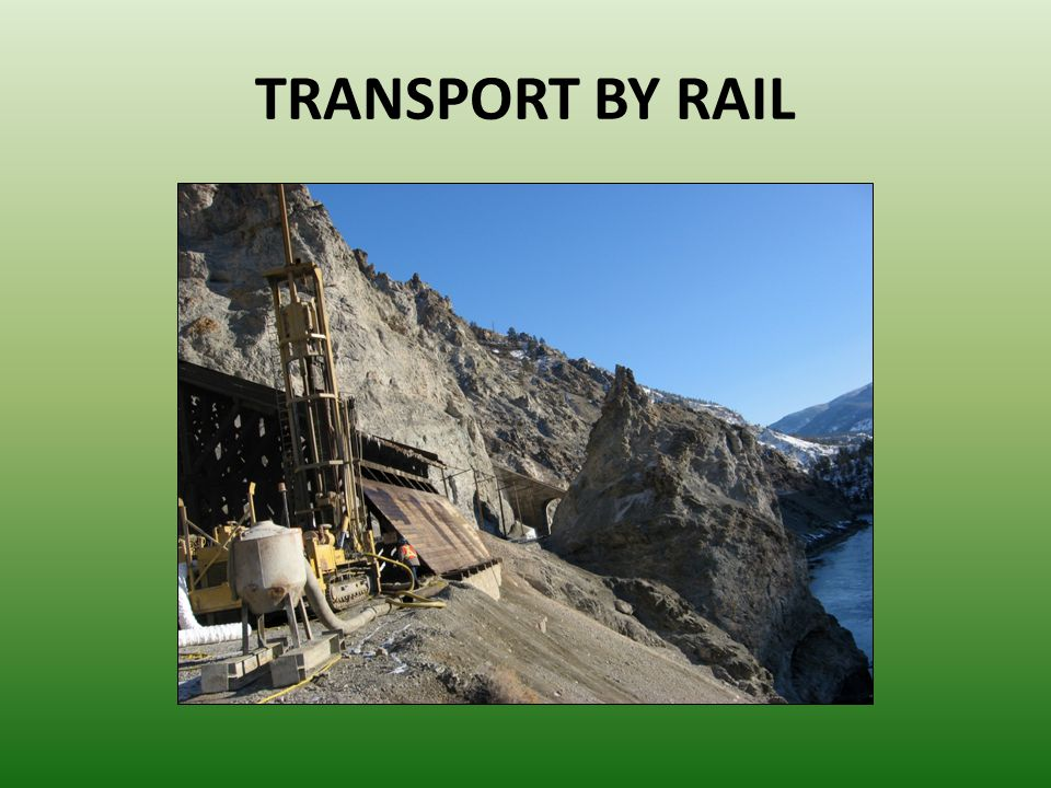 TRANSPORT BY RAIL