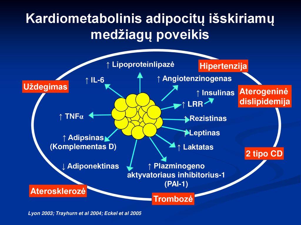 norepinefrino hipertenzija)