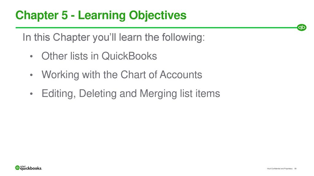 Learning QuickBooks Online - ppt download