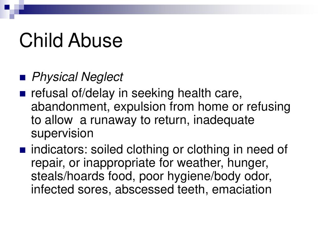 Runaways Findings Of Neglect And Abuse >> Victims Of Abuse Or Neglect Ppt Download
