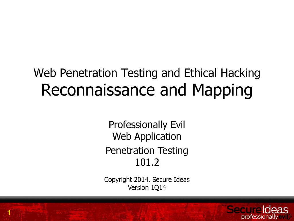 Web Penetration Testing and Ethical Hacking Reconnaissance