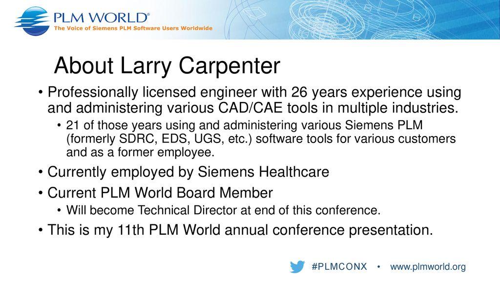 Deploying Clients via Batch Scripting Larry Carpenter, P  E