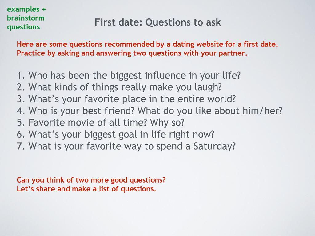 what questions do you ask on a first date
