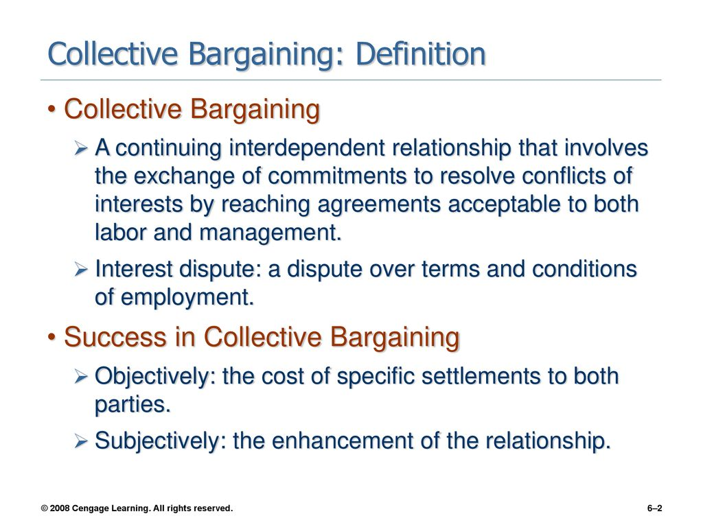 negotiating the labor agreement - ppt download