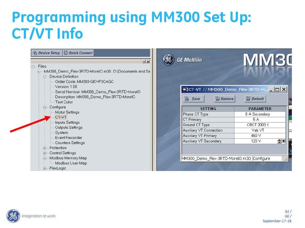 MM300 Motor Management System - ppt download
