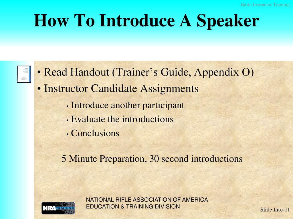 WELCOME Basic Instructor Training (BIT) - ppt download
