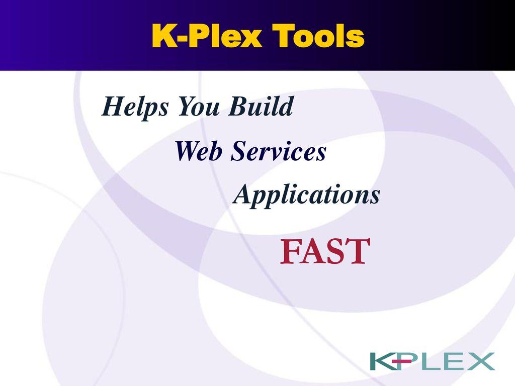 K-Plex, Inc  We Develop Technology for… Personalization Integration