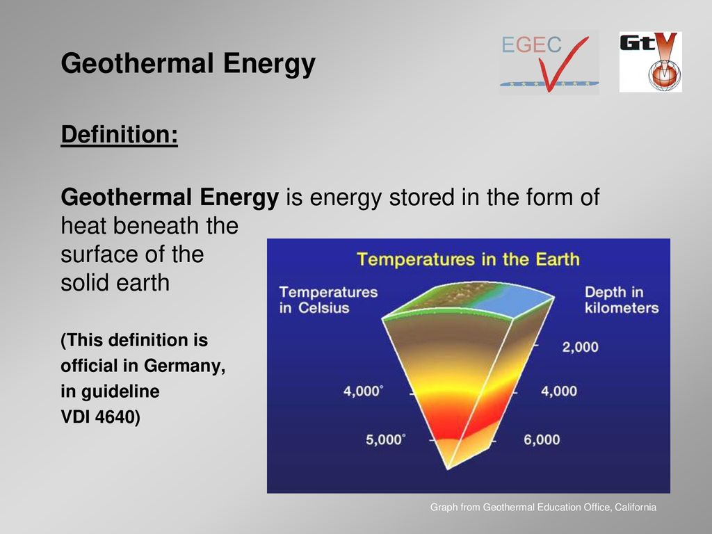 heating and cooling with geothermal energy - ppt download