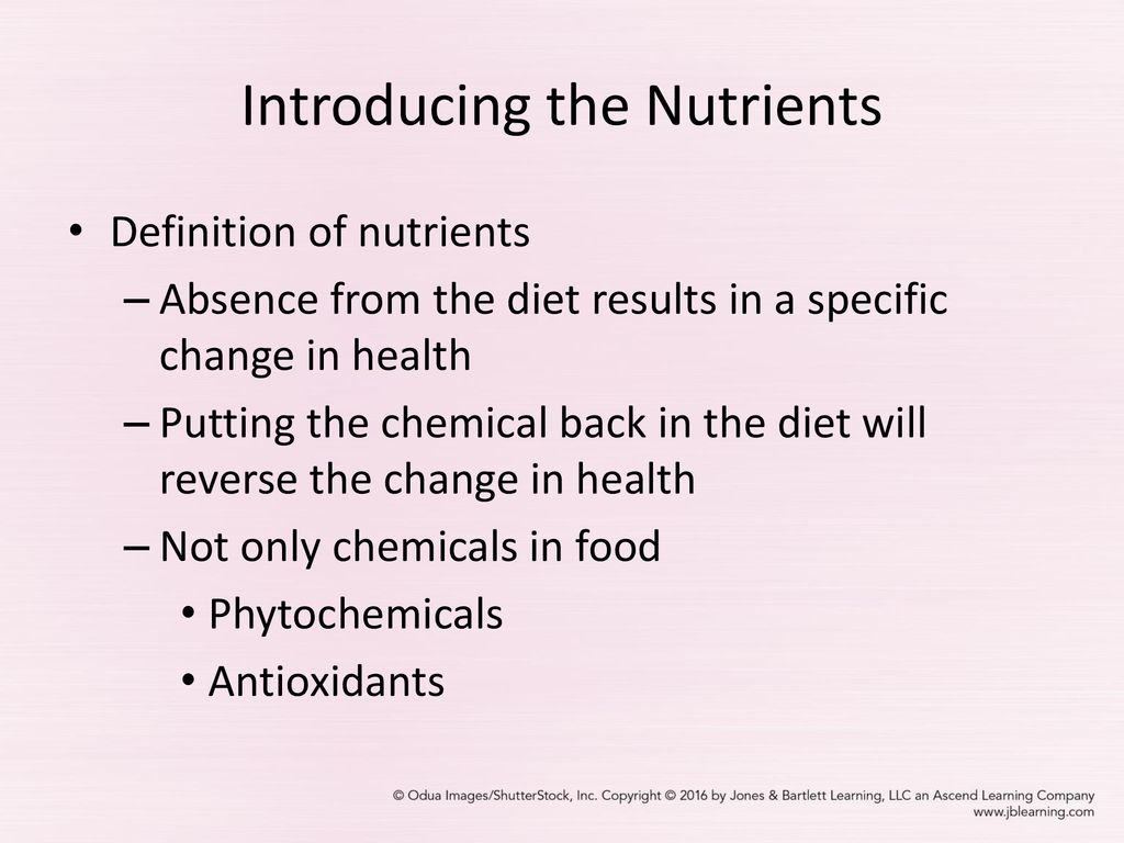 chapter 1 food choices: nutrients and nourishment - ppt download