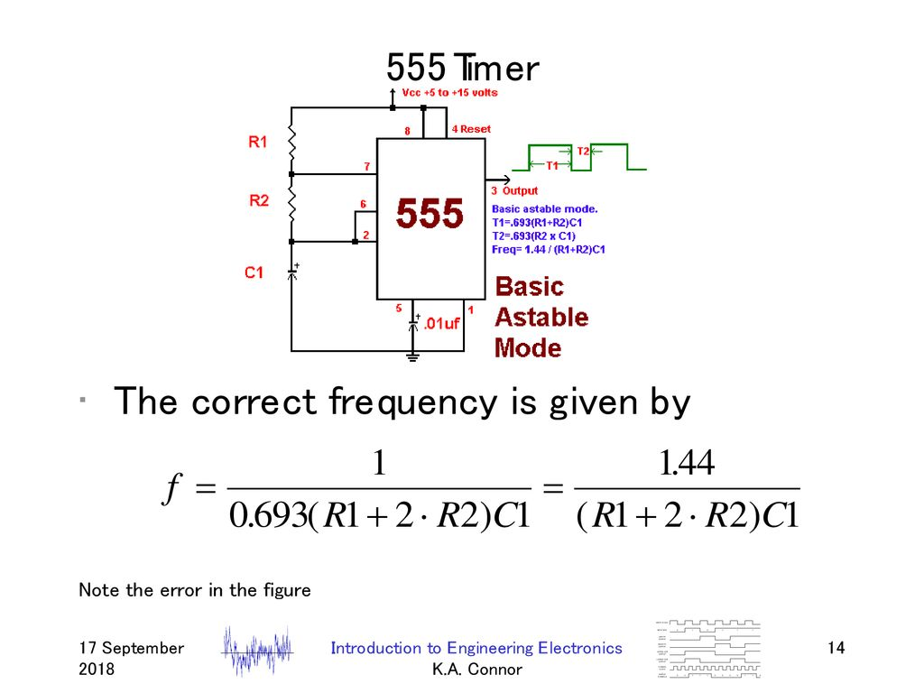 Digital Displays Cathode Ray Tubes Flat Panel Ppt Download Fig5 Circuit Diagram Of 555 Timer In Astable Mode 14 Introduction To Engineering Electronics