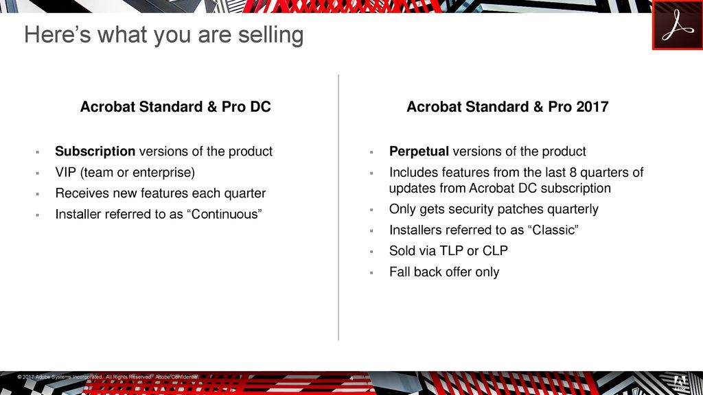 Adobe Acrobat 2017 (Perpetual Release) - ppt download