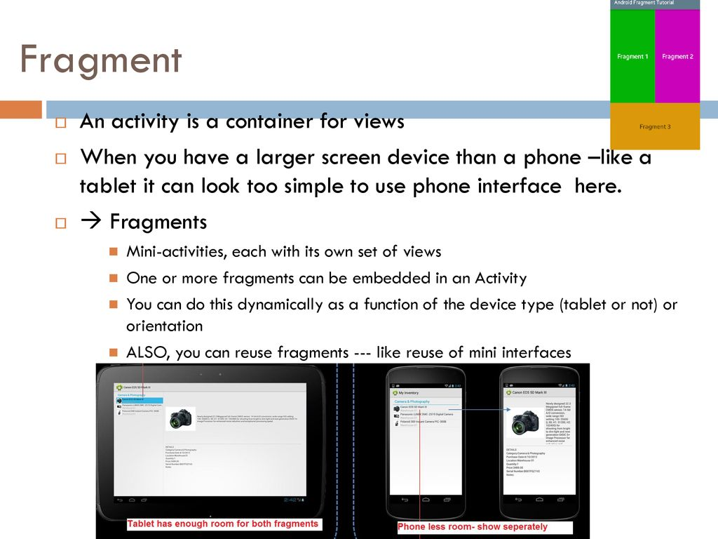 Android – Fragments L  Grewe  - ppt download