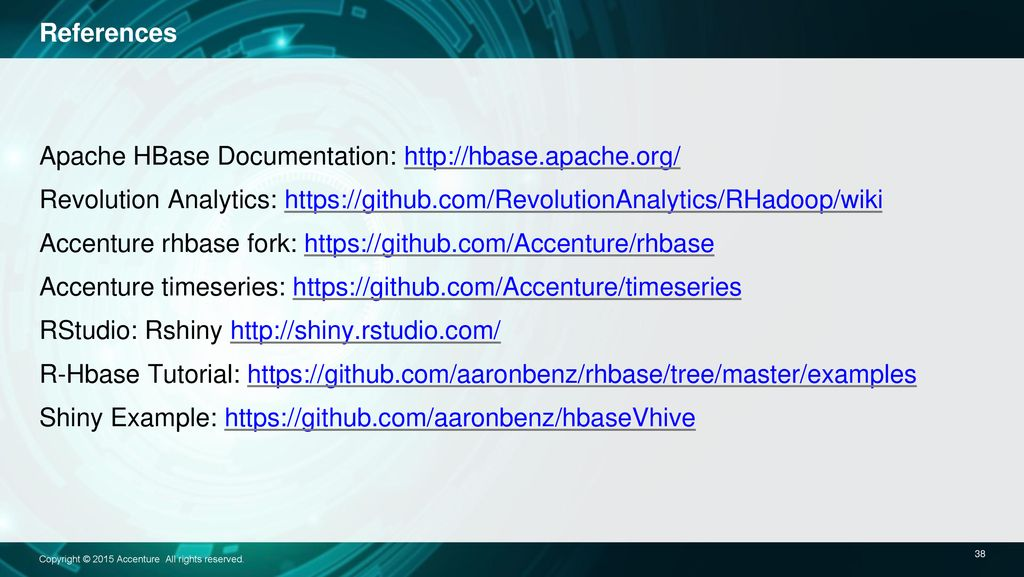Fast Time-Series Analytics with HBase and R - ppt download
