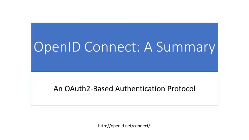 OAuth2, OpenID Connect, and Science Gateways - ppt download