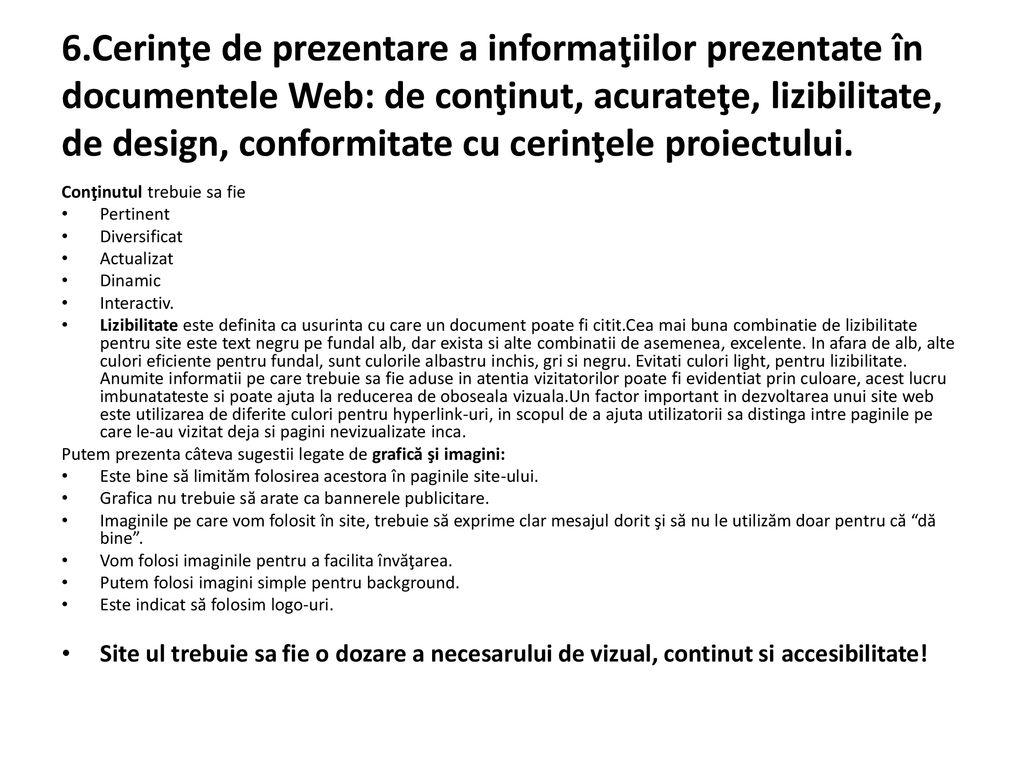 Exemplu de anun uri de prezentare a site ului