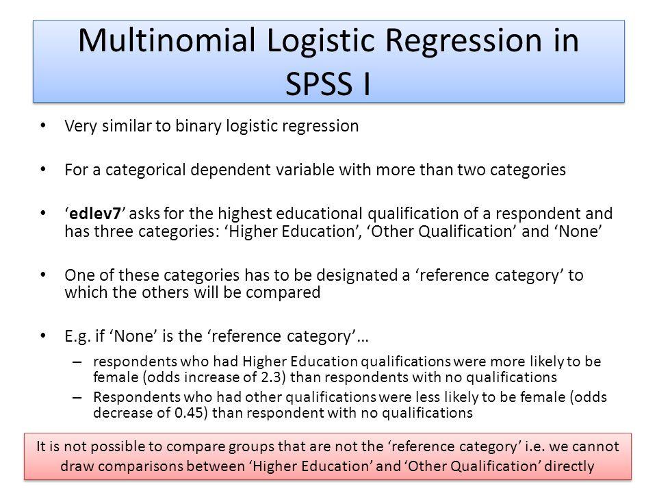 Logistic Regression III - ppt download