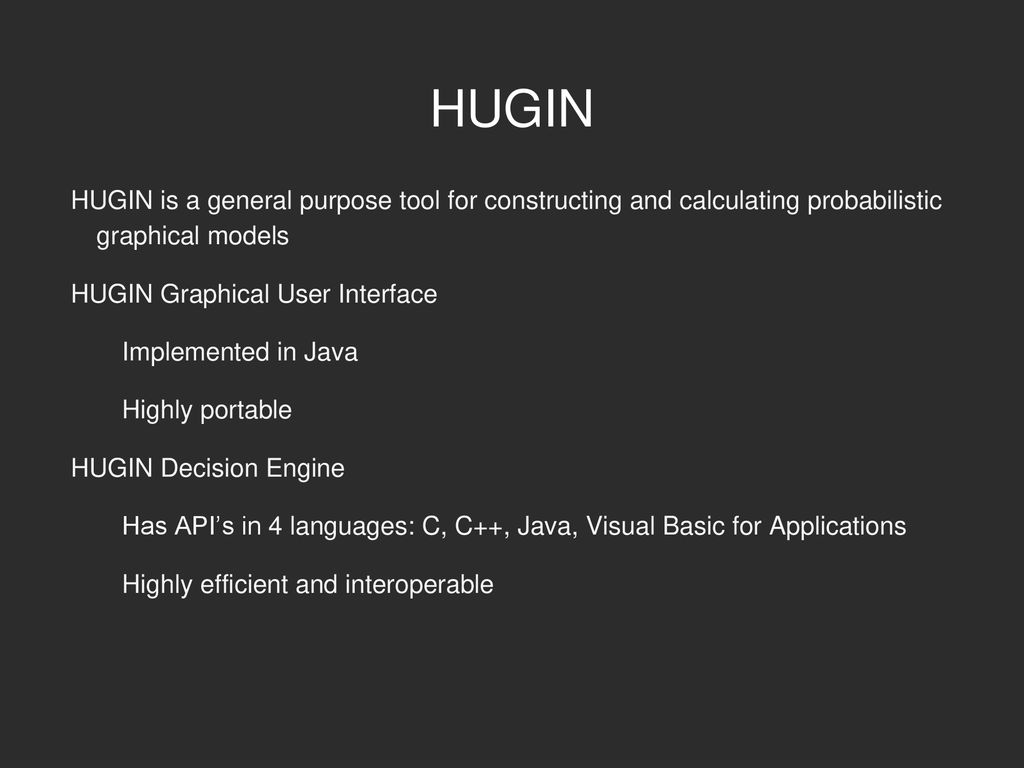 Applications of HUGIN to Diagnosis and Control of Autonomous