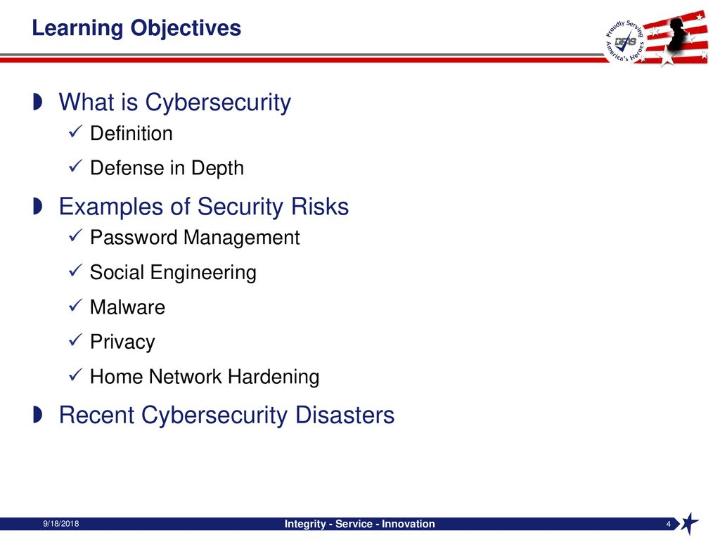 Dfas Internal Review Cybersecurity Awareness And Tips Ppt Download