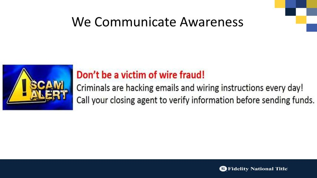 Compromise Wire Fraud Bill Risser Vp Digital Strategy Ppt Download