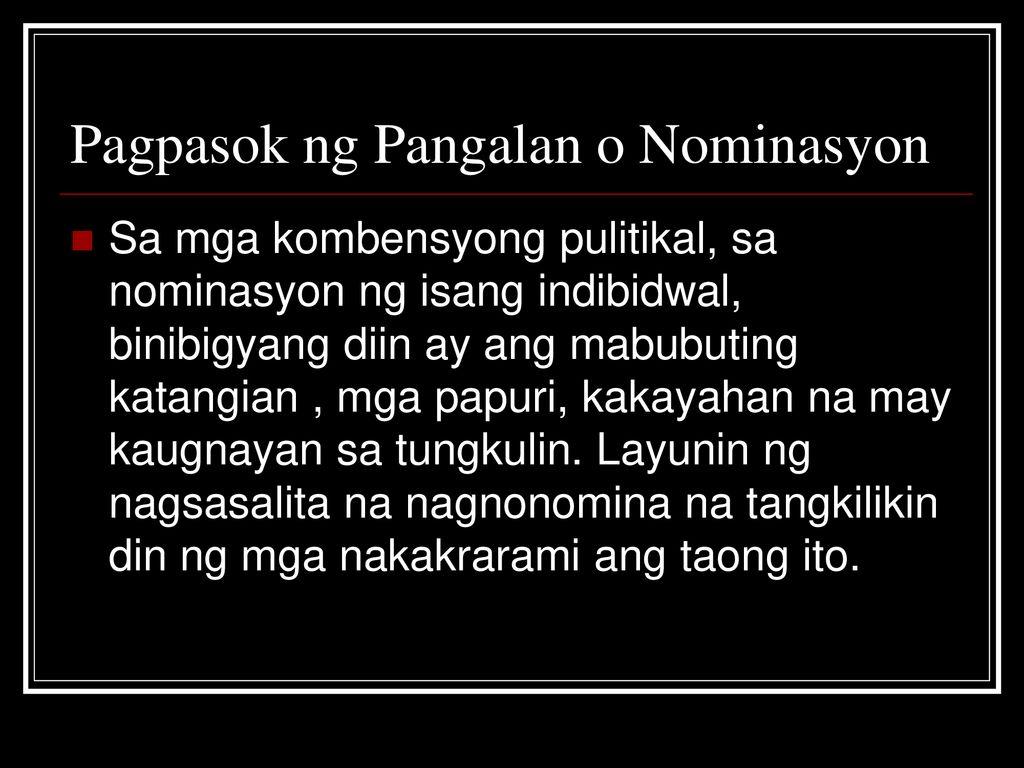 Ano CES datovania pangalan ng Pasig