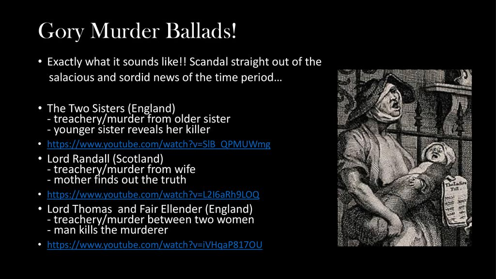 Music of the British Isles: Ballads - ppt download