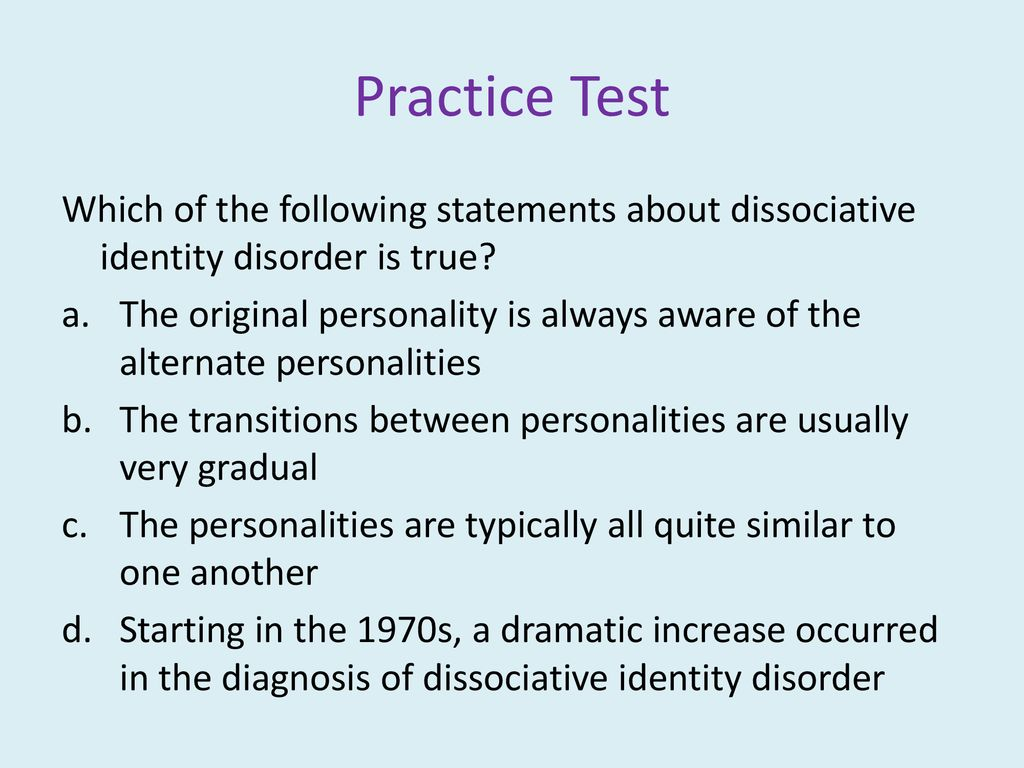 Psychological Disorders & Treatment - ppt download