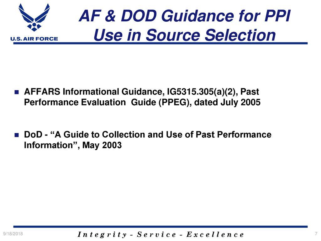Evaluate contractor past performance | evaluation | procurement.