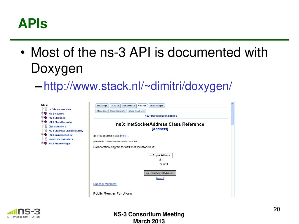 Ns3 Doxygen