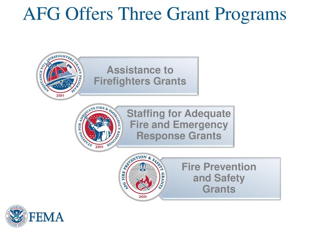 Assistance to Firefighters Grant Program ppt download