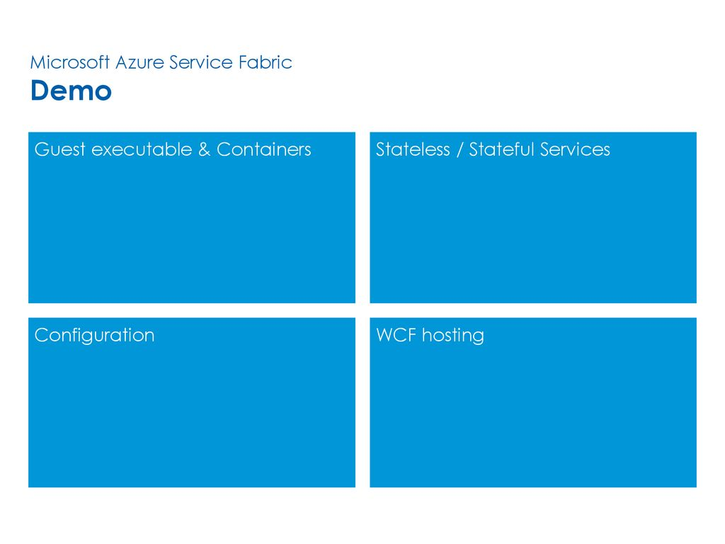 Microsoft Azure Service Fabric Overview - ppt download