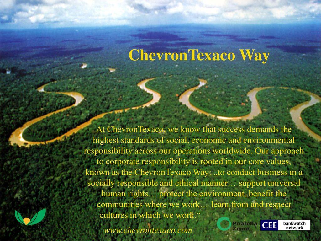 Výsledok vyhľadávania obrázkov pre dopyt znečistenie pralesa ropou chevrol