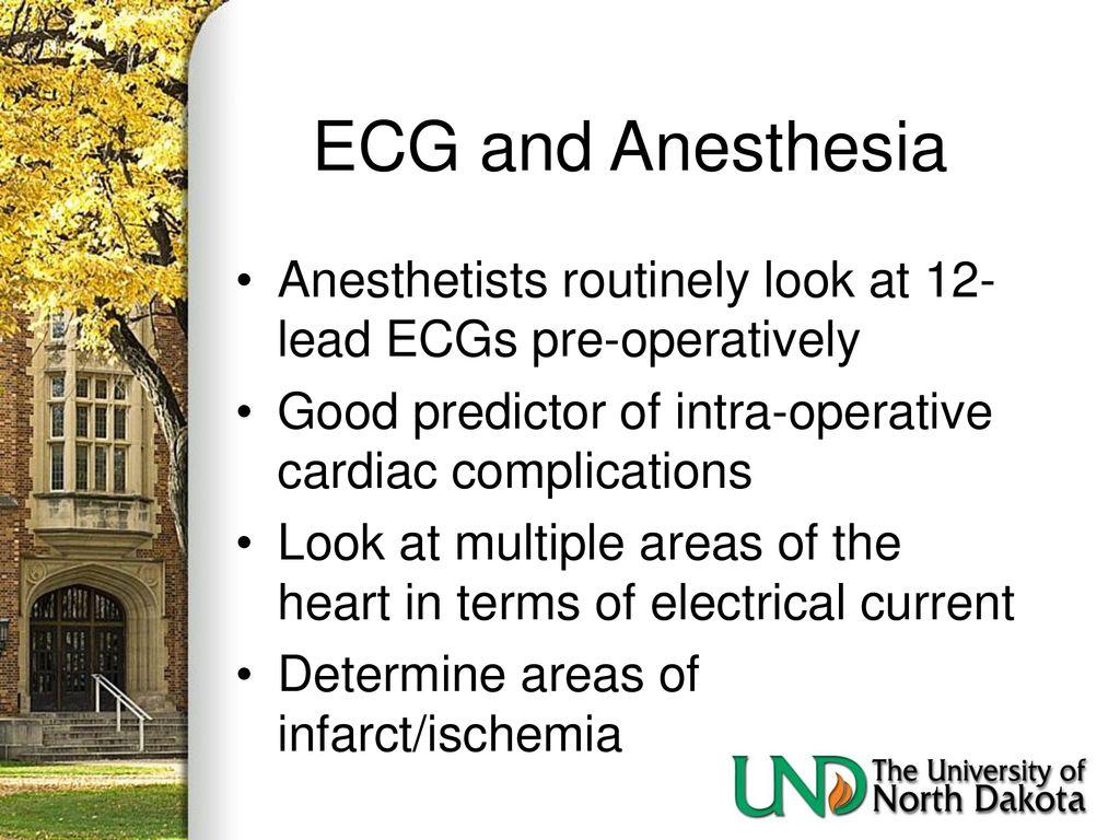 University of North Dakota Nurse Anesthesia Specialization