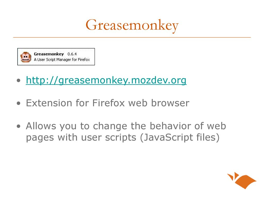 Greasemonkey User Scripts for the UT Libraries - ppt download