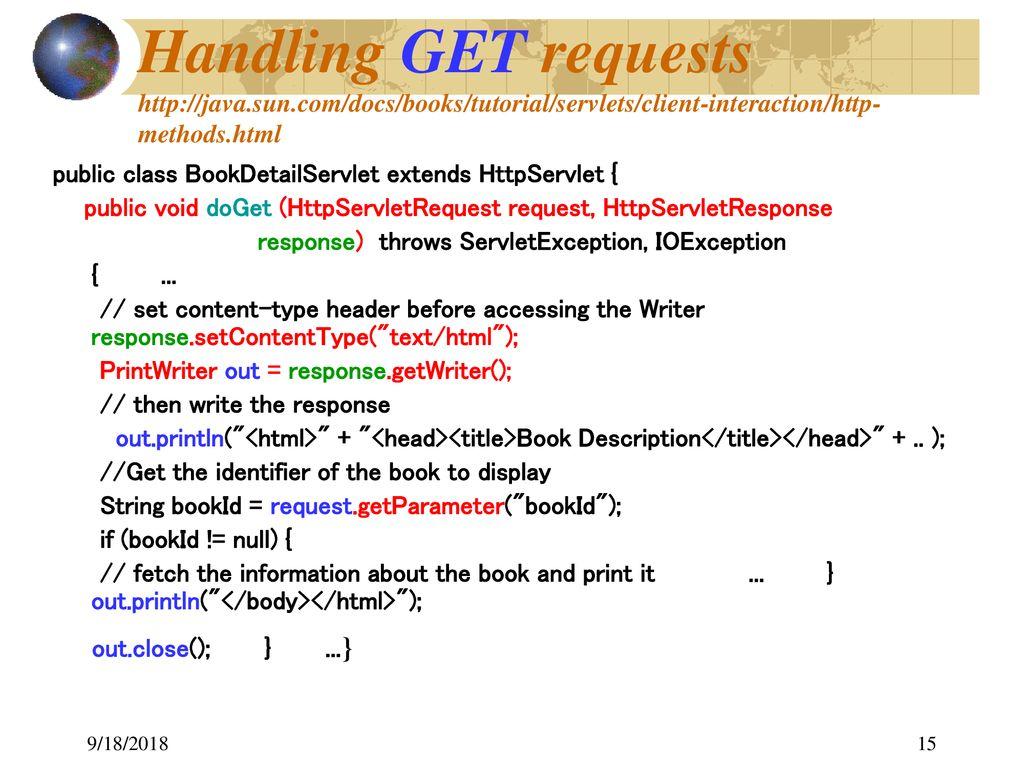Java Servlets 9/18/ ppt download