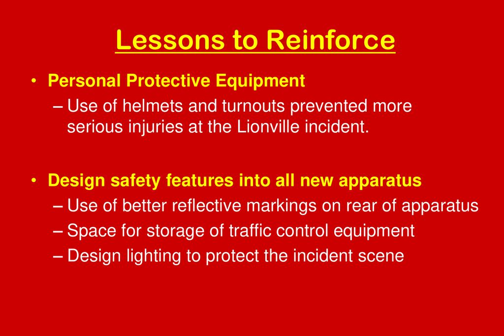 Highway Incident Safety for Emergency Responders - ppt download