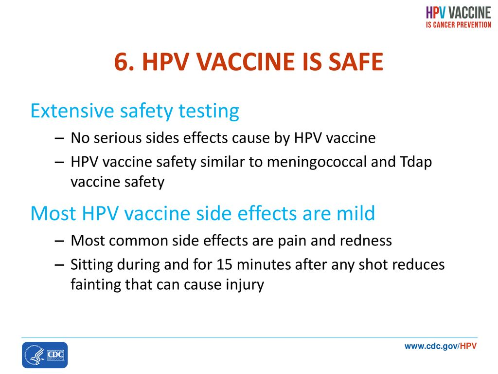 hpv vaccine side effects passing out