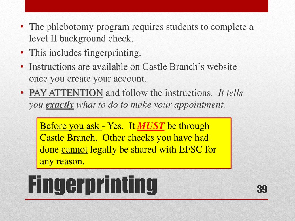 Phlebotomy Orientation Fall Ppt Download