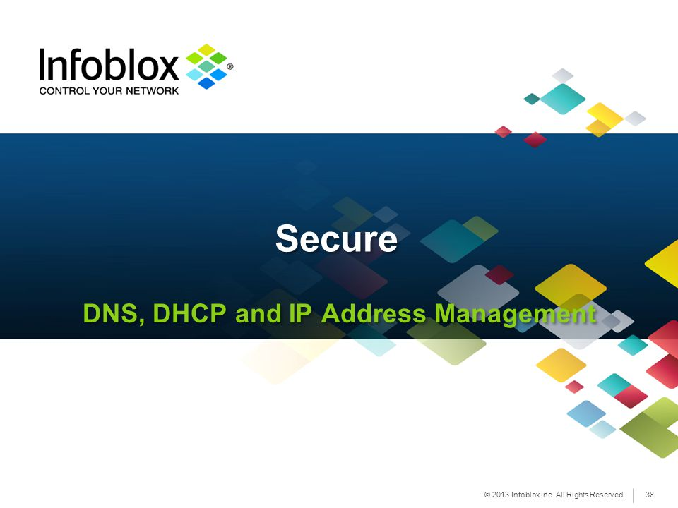 DNS, DHCP and IP Address Management