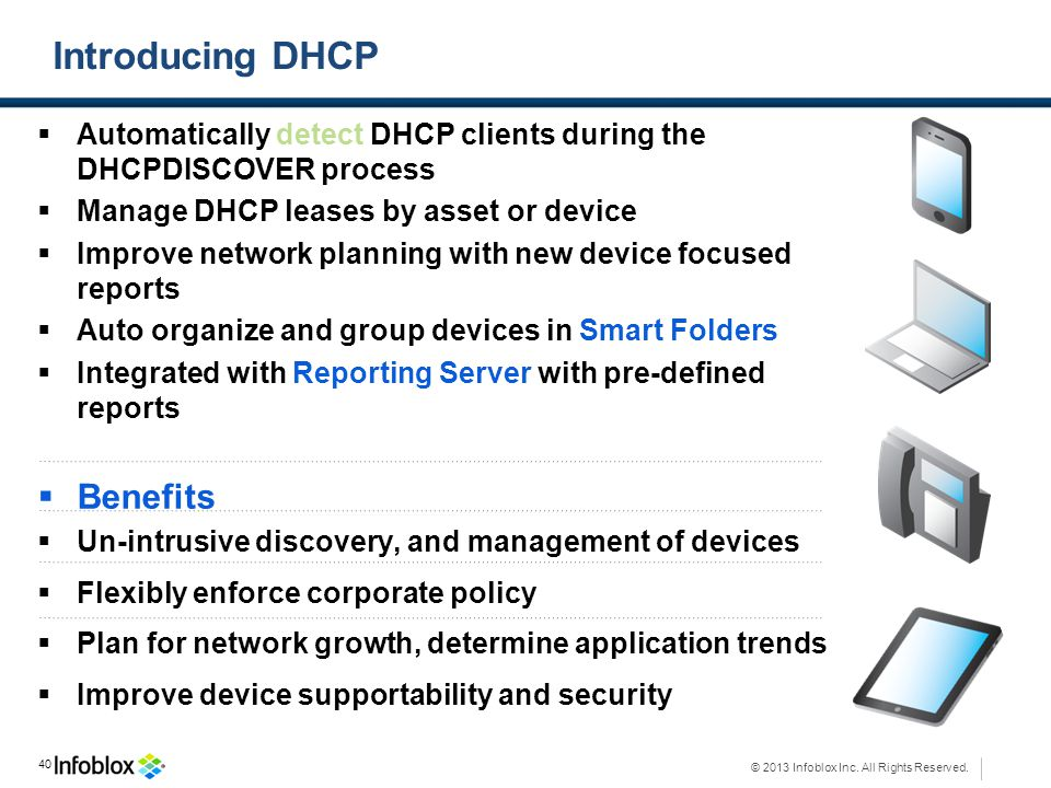 Introducing DHCP Benefits
