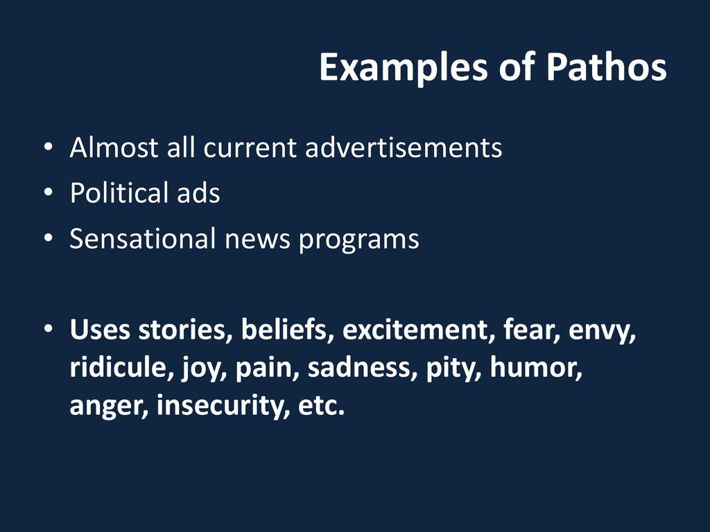 ads that use pathos
