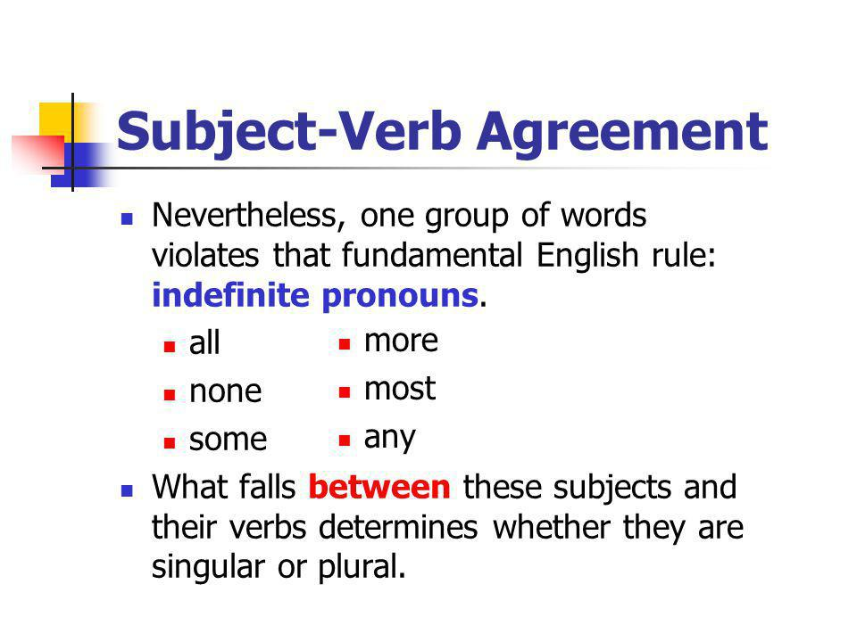 bc 11 subject verb agreement Subject-verb agreement by guest author - 2 minute read which is it the singular is or the plural are most of us know instinctively that the verb form must match the subject form in number 15 responses to subject-verb agreement andrewon september 23, 2009 11:16 pm.