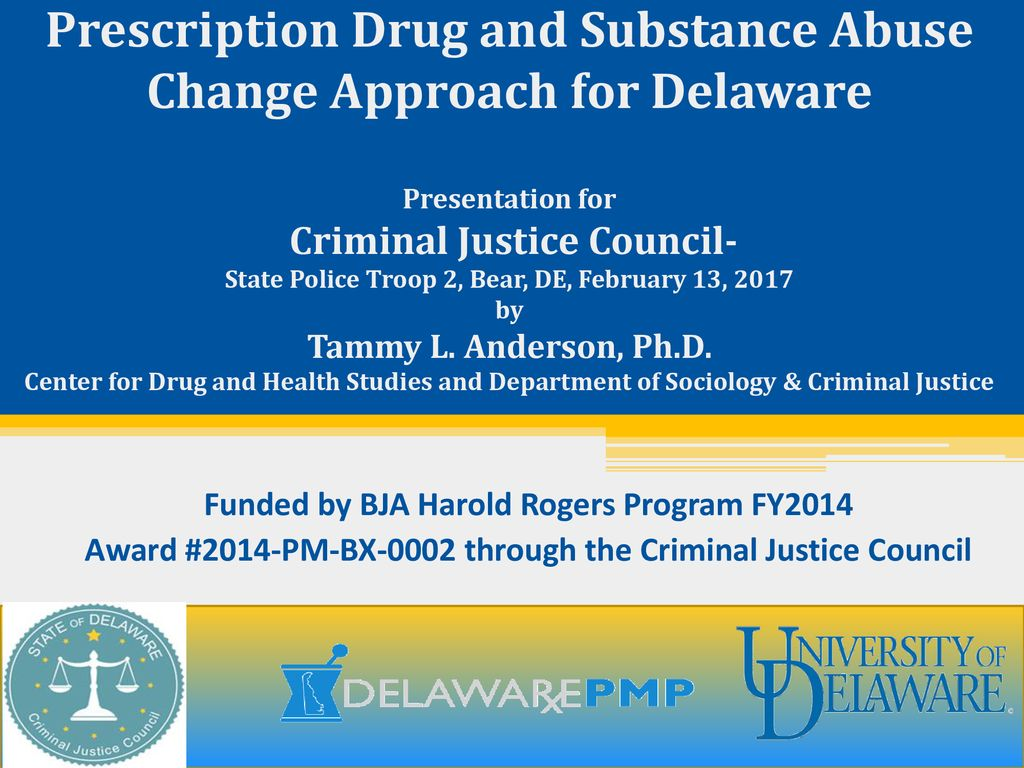 Prescription Drug and Substance Abuse Change Approach for
