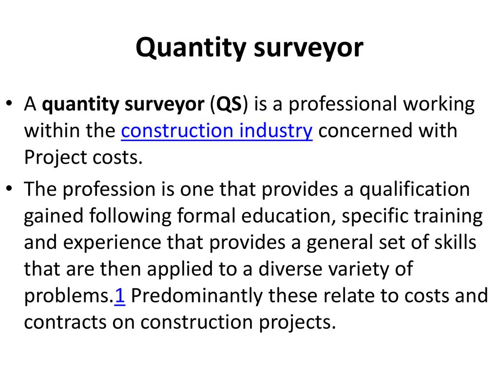 Work as a surveyor is hard work based on deep knowledge and experience