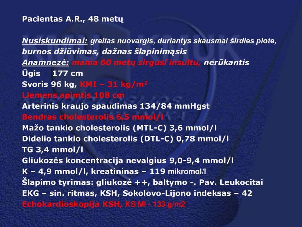 hipertenzija po 60 metų)