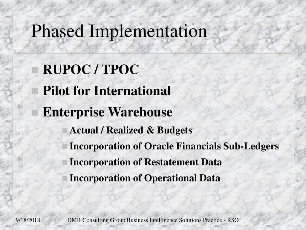 AT&T Finance Community Information Warehouse - ppt download