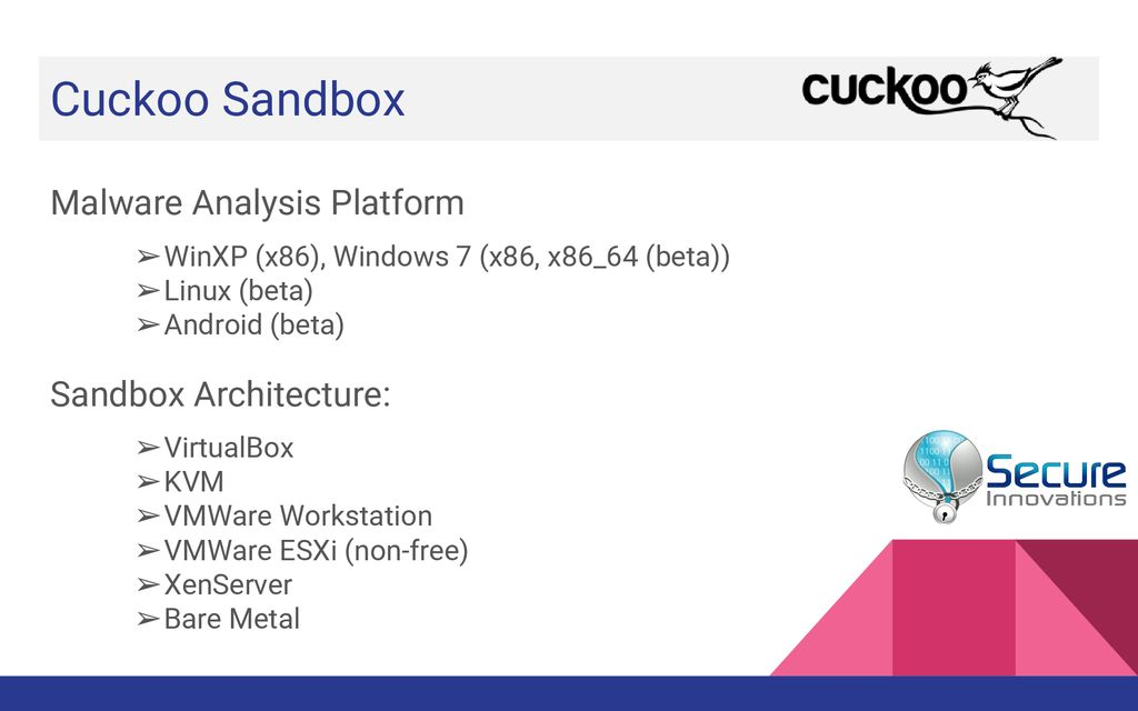 cuckoo sandbox windows 7