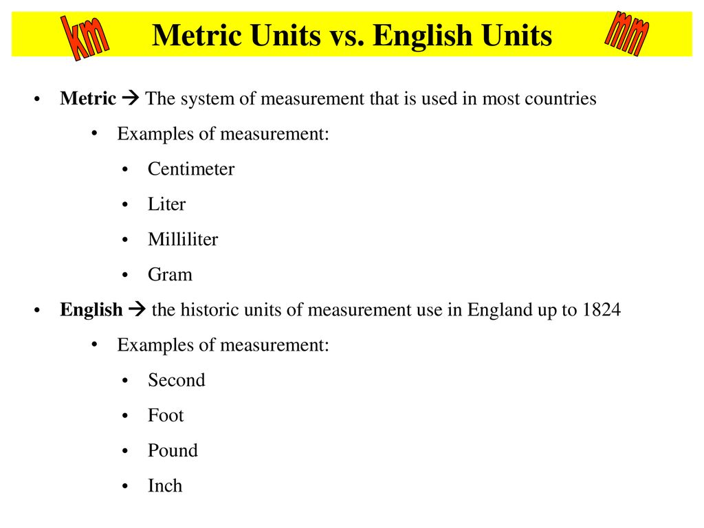 Units And Equipment Ppt Download