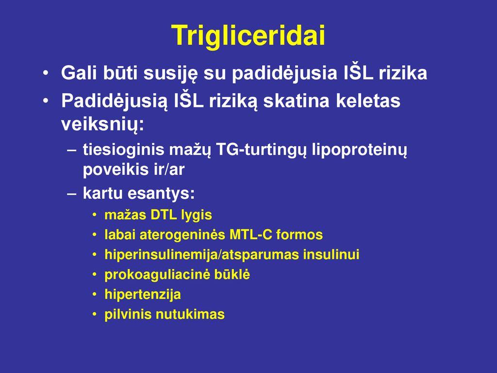 hipertenzija ir diuretikai)