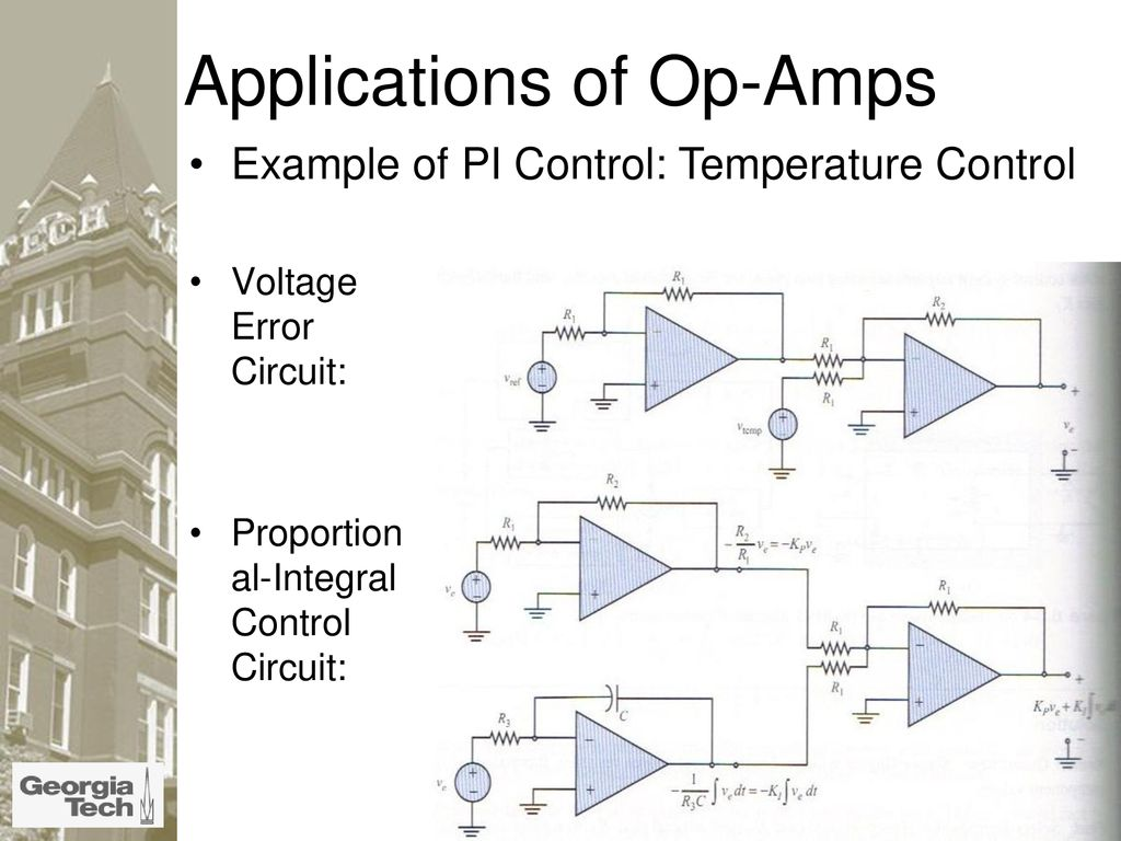 What Is An Op Amp The Surface Ppt Download Circuit Diagram Schematic On Wheatstone Bridge Single Applications Of Amps