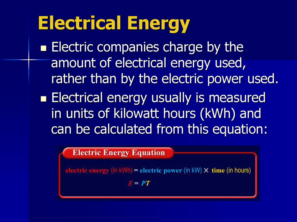 26 Electrical Energy Electric Companies